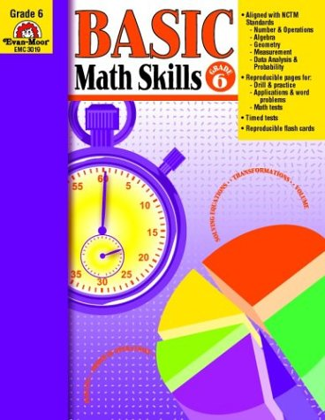 Basic Math Skills, Grade 6 - Wes Tuttle