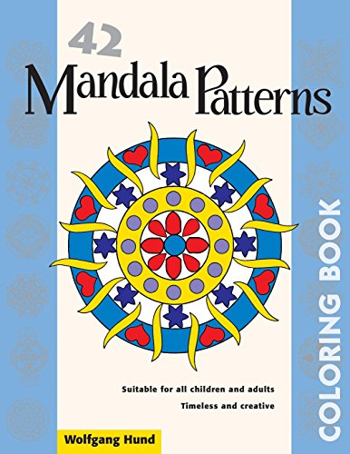 42 Mandala Patterns Coloring Book - Wolfgang Hund