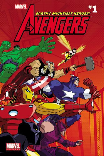 Marvel Universe Avengers Earth's Mightiest Heroes - Comic Reader 1 (Marvel Comic Readers) - Christopher Yost; Patrick Scherberger