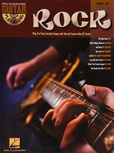 Rock: Guitar Play-Along Volume 8 - Hal Leonard Corp.