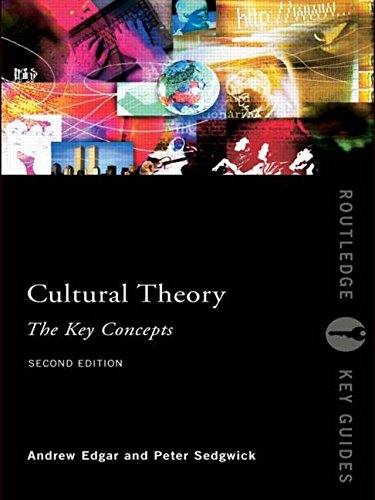 Cultural Theory: The Key Concepts (Routledge Key Guides) - Andrew Edgar; Peter Sedgwick