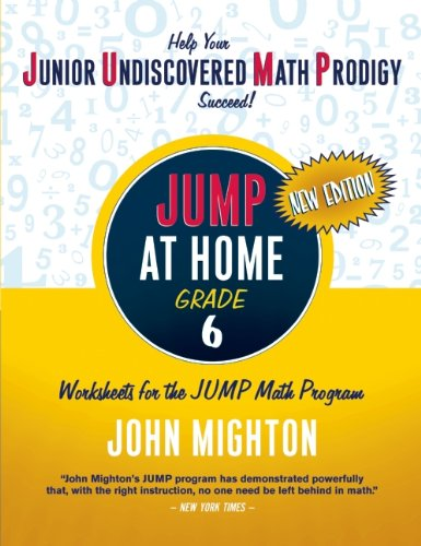 Jump at Home: Grade 6 - John Mighton