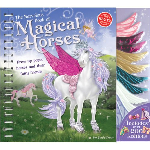 The Marvelous Book of Magical Horses - Eva Steele-Staccio