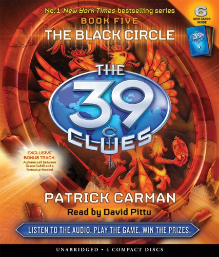 The Black Circle (The 39 Clues , Book 5)  - Audio - Patrick Carman