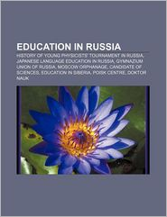 Education In Russia - Books Llc