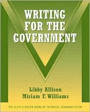 Writing for the Government - Libby Allison, Miriam F. Williams