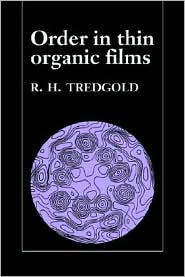Order in Thin Organic Films - R. H. Tredgold