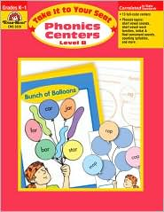 Take It to Your Seat Phonics Centers - Level B, Grades K-1 - Evan-Moor Educational Publishers, Jill Norris