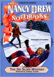 The Ski Slope Mystery (Nancy Drew Notebooks Series #16) - Carolyn Keene