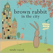 Brown Rabbit in the City - Natalie Russell