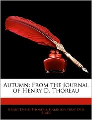 Autumn: From the Journal of Henry D. Thoreau
