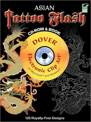 Asian Tattoo Flash CD-ROM and Book - Alan Weller