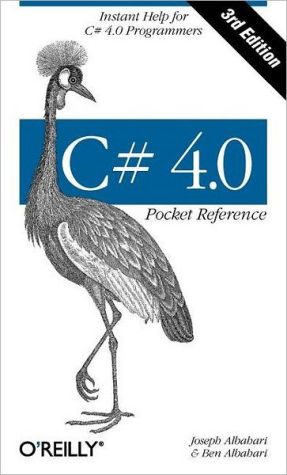 C# 4.0 Pocket Reference
