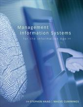 Management Information Systems for the Information Age - Haag Stephen / Cummings Maeve / Haag, Stephen