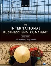 The International Business Environment - Hamilton, Leslie / Webster, Philip