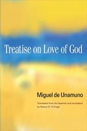 Treatise on Love of God - De Unamuno, Miguel / Orringer, Nelson R.