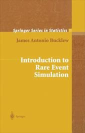 Introduction to Rare Event Simulation - Bucklew, James Antonio