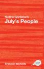 Nadine Gordimer's July's People - Nicholls, Brendon