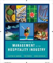 Introduction to Management in the Hospitality Industry - Barrows, Clayton W. / Powers, Tom / Reynolds, Dennis