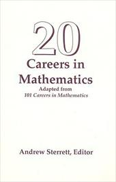 20 Careers in Mathematics - Sterrett, Andrew