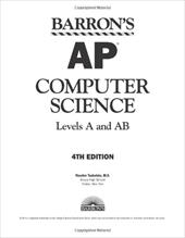 Barron's AP Computer Science: Levels A and AB - Teukolsky, Roselyn