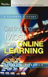 Getting the Most from Online Learning - Piskurich, George M.
