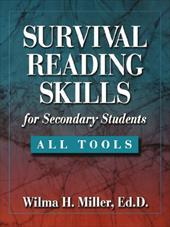 Survival Reading Skills for Secondary Students - Miller, Wilma H.