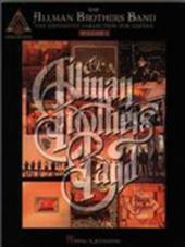 The Allman Brothers Band - The Definitive Collection for Guitar - Volume 1 - Hal Leonard Publishing Corporation