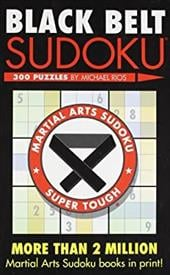 Black Belt Sudoku - Rios, Michael