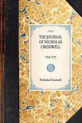 The Journal of Nicholas Cresswell - Cresswell, Nicholas