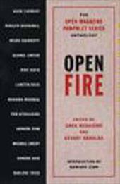 Open Fire: The Open Magazine Pamphlet Series Anthology, No 1 - Ruggiero, Greg / Sahulka, Stuart / Zinn, Howard