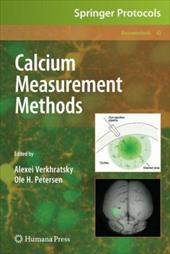 Calcium Measurement Methods - Verkhratsky, Alexei / Petersen, Ole H.