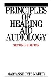 Principles of Hearing Aid Audiology - Tate, Maryanne Maltby / Maltby, Maryanne Tate / Maltby