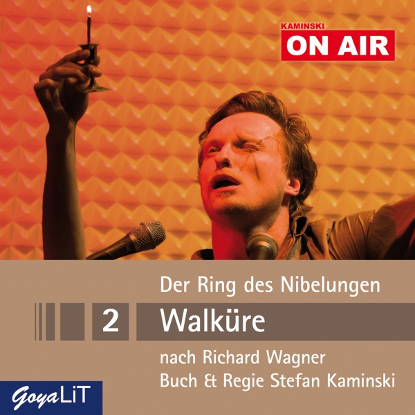 Walküre (Der Ring des Nibelungen 2): Kaminski ON AIR, Hörbuch, Digital, 76min - Richard Wagner, Stefan Kaminsk