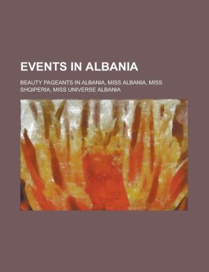 Events In Albania - Books Llc