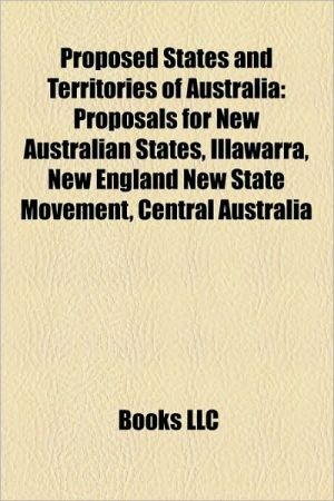 Proposed States And Territories Of Australia