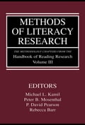 Methods of Literacy Research: The Methodology Chapters from the Handbook of Reading Research, Volume III - Kamil, Michael L.