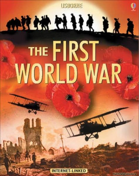 The Usborne Introduction to the First World War - Ruth Brocklehurst, Henry Brook