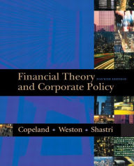 Financial Theory and Corporate Policy - Thomas E. Copeland