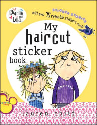 My Haircut Sticker Book - Lauren Child