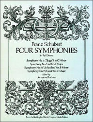 Four Symphonies in Full Score: (Sheet Music) - Franz Peter Schubert