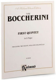 First Quintet in D Major for Two Violins, Viola, Cello and Guitar - Luigi Boccherini
