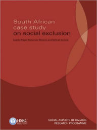 South African Case Study on Social Exclusion - Laetitia Rispel