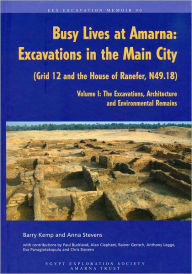 Busy Lives at Amarna: Excavations in the Main City (Grid 12 and the House of Ranefer, N49.18) Volume I: The Excavations, Architecture and Environmental Remains - Anna Stevens