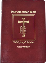 Saint Joseph Gift Bible, Deluxe Medium Size Print Edition: New American Bible (NABRE), red bonded leather - Catholic Book Publishing Company