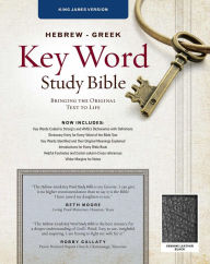 Key Word Study Bible KJV: Genuine Black - Spiros Zodhiates