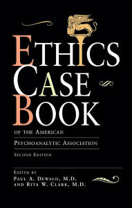 Ethics Case Book - Paul A. Dewald