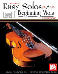 Easy Solos for Beginning Viola, Level 1 - Craig Duncan