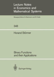 Binary Functions and their Applications - Horand Stormer