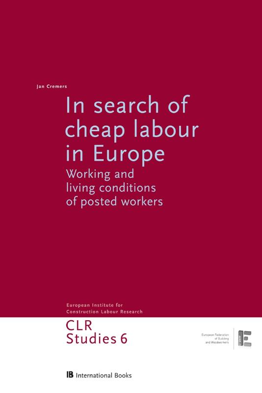 In search of cheap labour in Europe - Jan Cremers